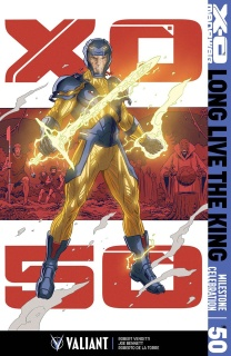 X-O Manowar #50 (Rivera Cover)