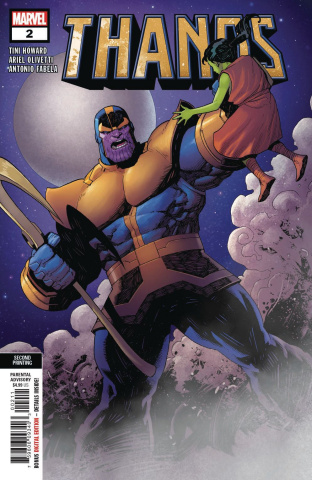 Thanos #2 (Olivetti 2nd Printing)