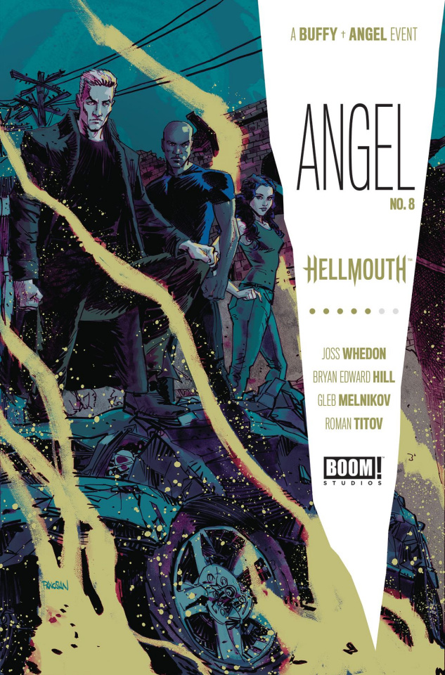 Angel #8 (Panosian Cover)