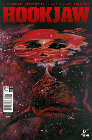 Hookjaw #1 (White Cover)
