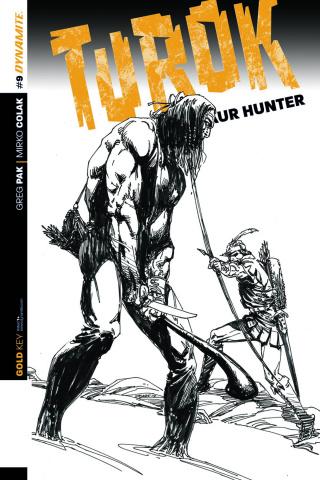 Turok: Dinosaur Hunter #9 (10 Copy Cover)