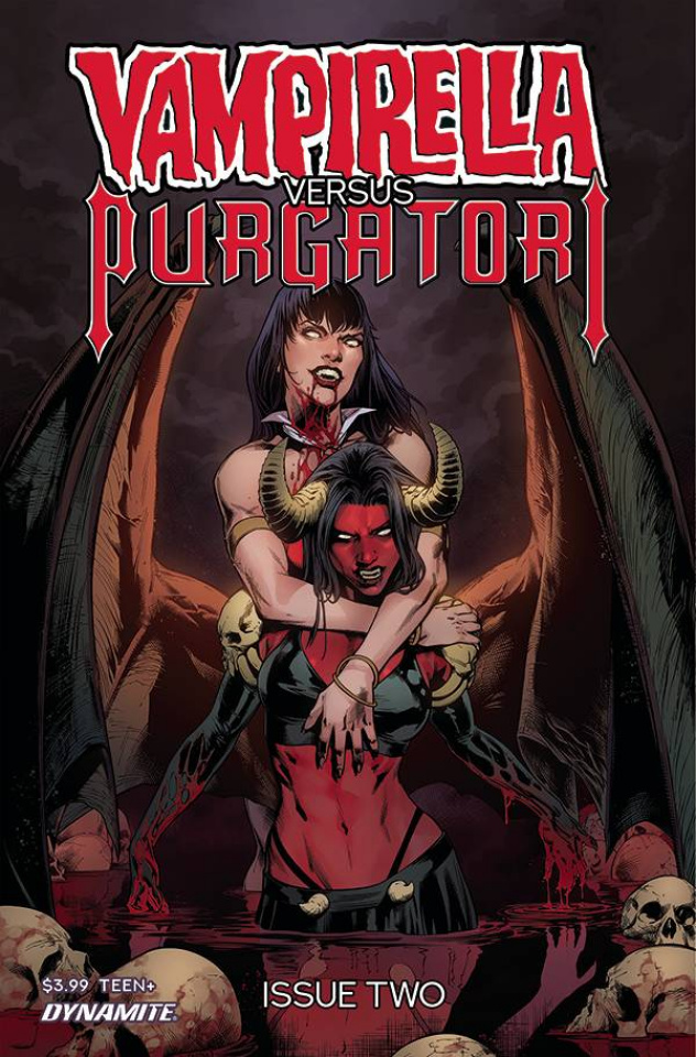 Vampirella vs. Purgatori #2 (Pagulayan Cover)