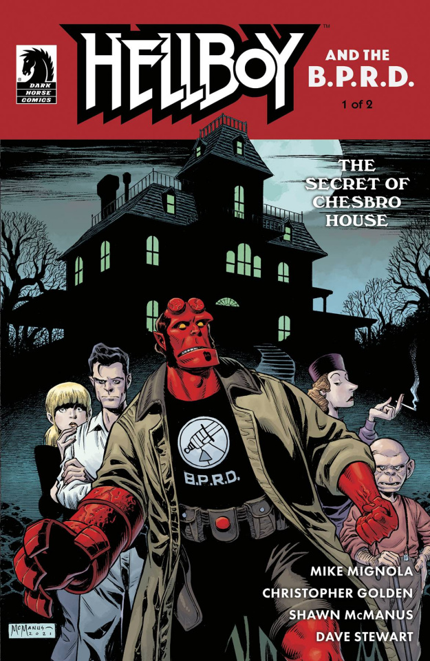 Hellboy and the B.P.R.D.: The Secret of Chesbro House #1 (McManus Cover)