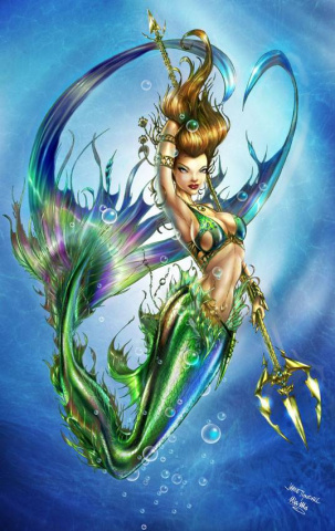 Grimm Fairy Tales: The Little Mermaid #1 (Tyndall Cover)
