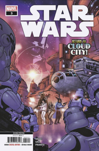 Star Wars #3 (Silva 2nd Printing)