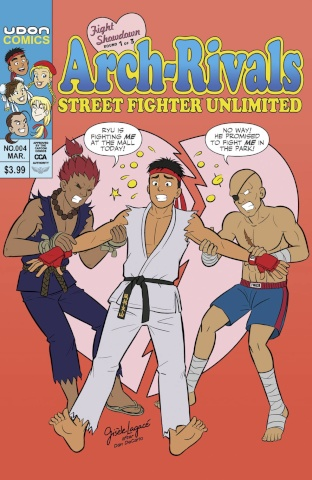 Street Fighter Unlimited #4 (10 Copy Homage Cover)