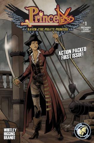 Princeless: Raven, The Pirate Princess #1 (Case Cover)