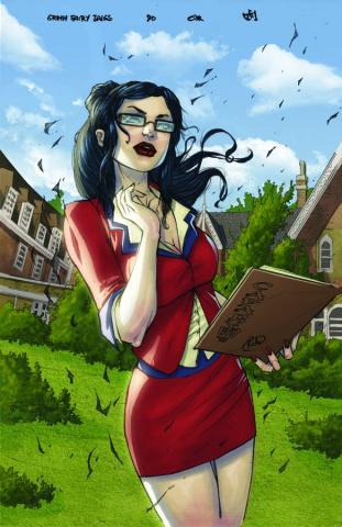 Grimm Fairy Tales #90 (Cafaro Cover)