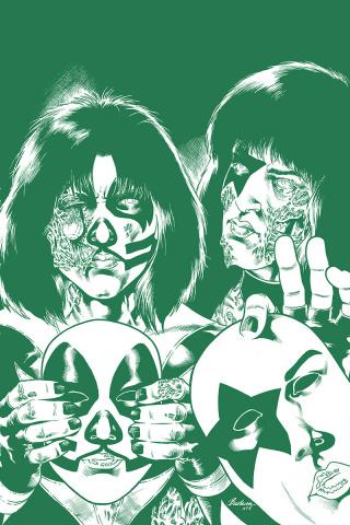 KISS: Zombies #5 (21 Copy Buchemi Tint Virgin Cover)