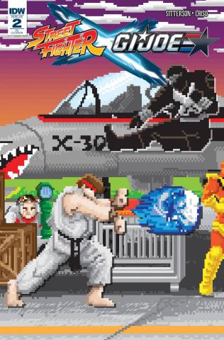Street Fighter X G.I. Joe #2 (10 Copy Cover)