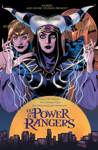 Go, Go, Power Rangers! #19 (25 Copy Melnikov Cover)
