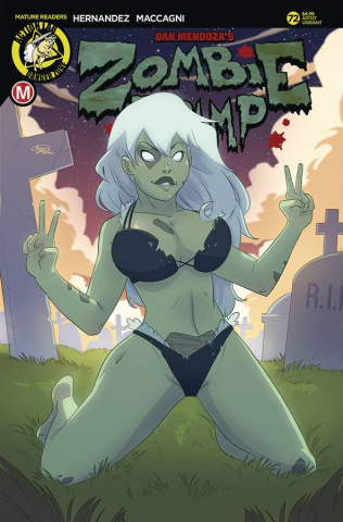 Zombie Tramp #72 (Huang Cover)