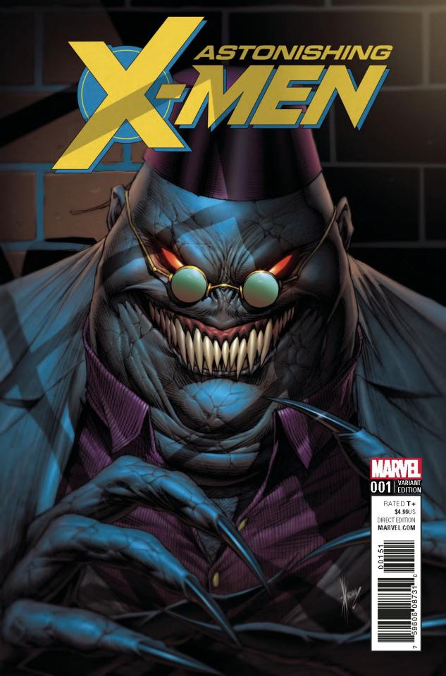 Astonishing X-Men #1 (Keown Villain Cover)