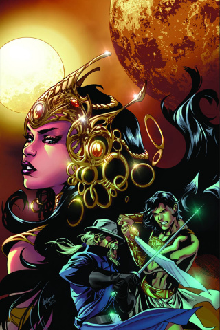 John Carter: Warlord of Mars #4 (30 Copy Lupacchino Virgin Cover)