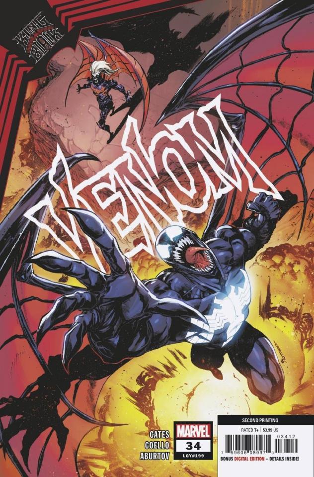 Venom #34 (Coello 2nd Printing)