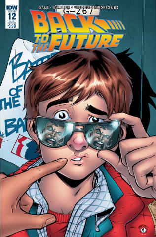 Back to the Future #12 (Subscription Cover)