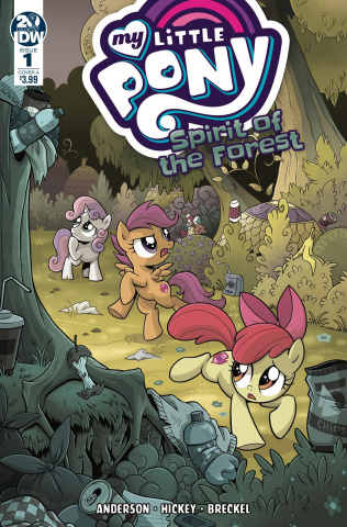 My Little Pony: Spirit of the Forest #1 (Hickey Cover)