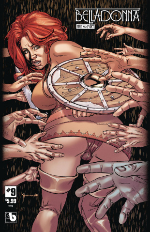 Belladonna: Fire and Fury #9 (Grasp Cover)