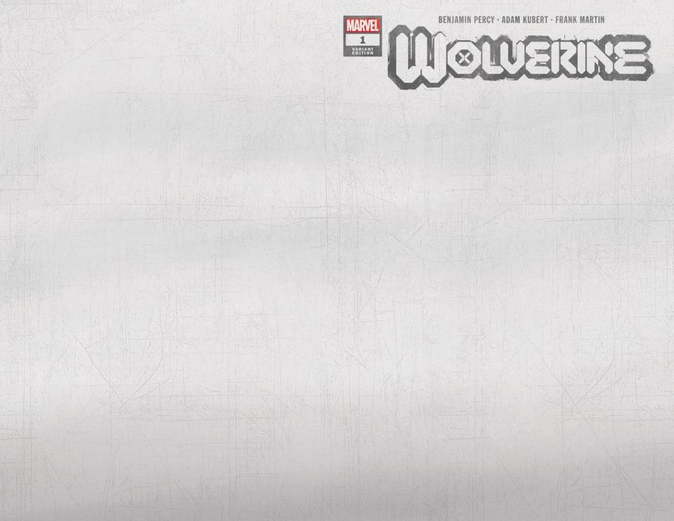 Wolverine #1 (Adamantium Cover)