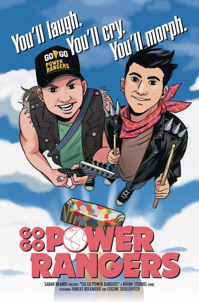 Go, Go, Power Rangers! #14 (25 Copy Bustos Cover)