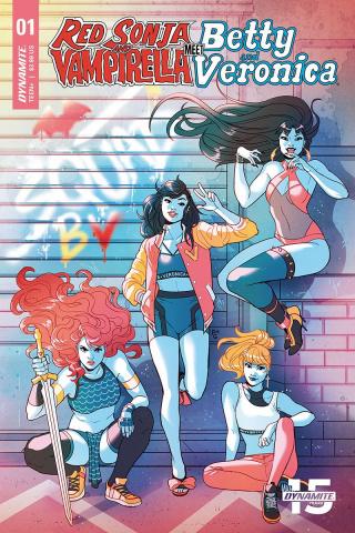 Red Sonja and Vampirella Meet Betty and Veronica #1 (Ganucheau Cover)