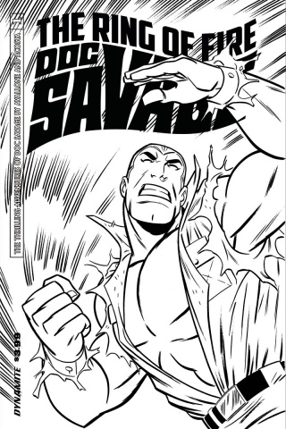 Doc Savage: The Ring of Fire #1 (20 Copy Cover)