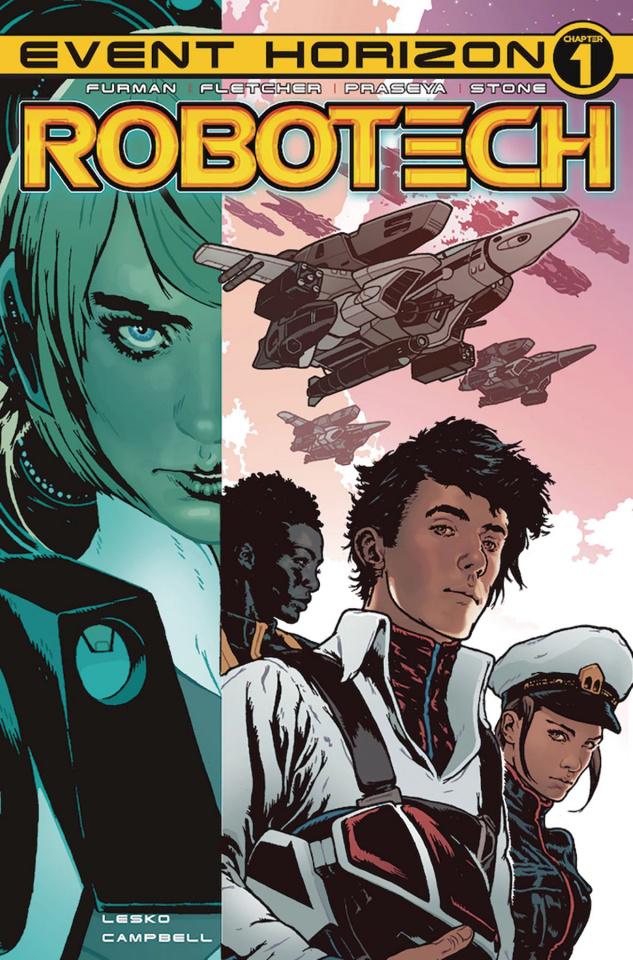Robotech #21 (Spokes Cover)