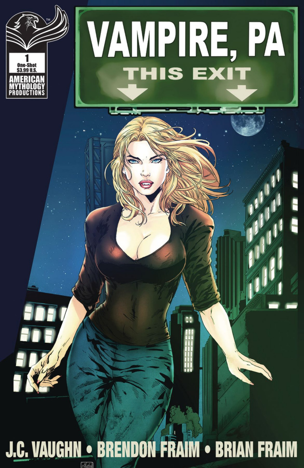Vampire, PA: Bite Out of Crime #1 (Kishna Cover)