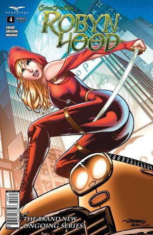 Grimm Fairy Tales: Robyn Hood #4 (Desjardins Cover)