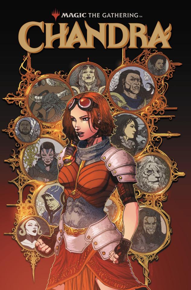 Magic the Gathering: Chandra #2 (Tolibao Cover)