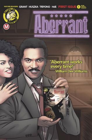 Aberrant #1 (Leon Dias Cover)
