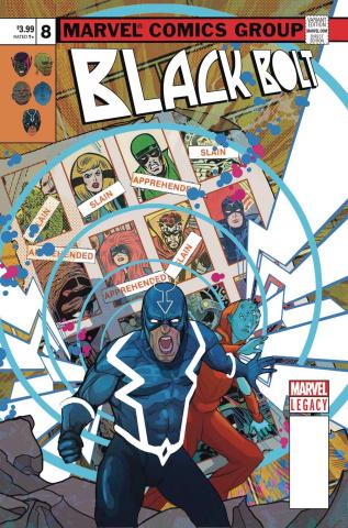 Black Bolt #8 (Ward Cover)