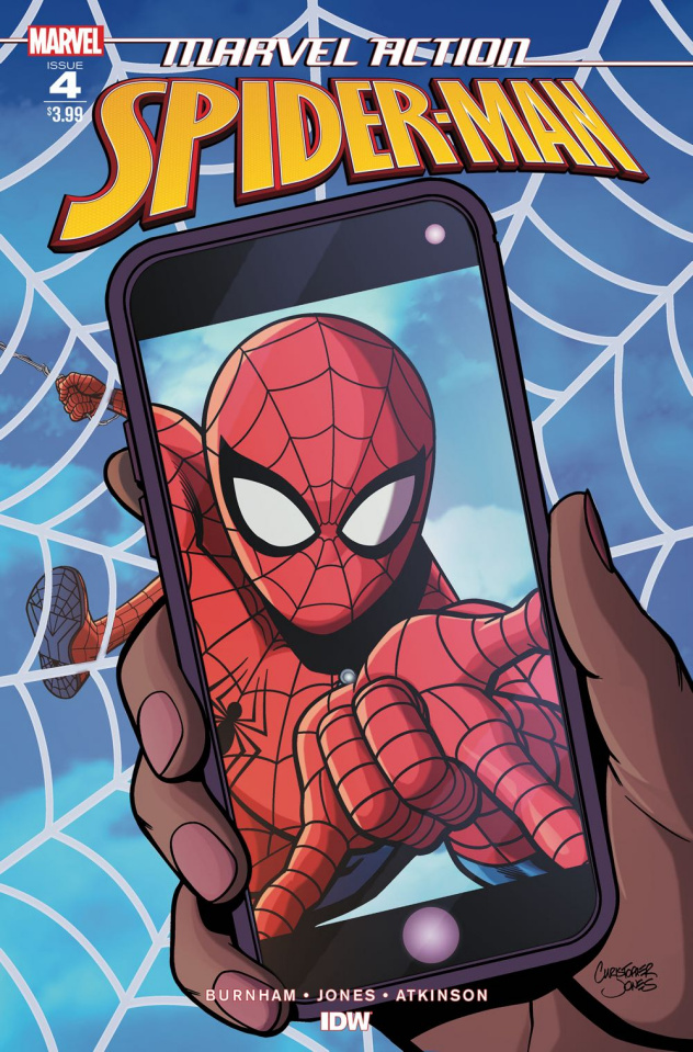 Marvel Action: Spider-Man #4 (Jones Cover)