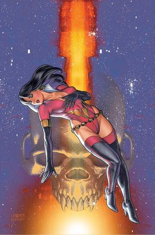 Vampirella: The Dark Powers #4 (Linsner Virgin Cover)