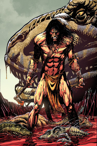 Turok #1 (Bart Sears Virgin Cover)