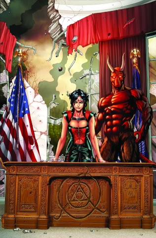 Grimm Fairy Tales: Realm War #2 (Campbell Cover)