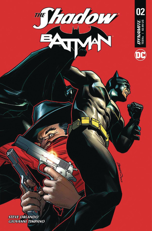 The Shadow / Batman #2 (Peterson Cover)