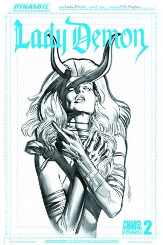 Lady Demon #2 (25 Copy Mayhew Artboard Cover)