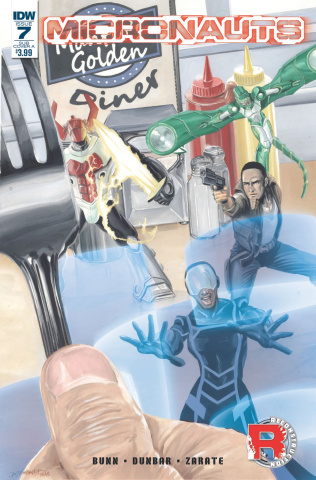 Micronauts #7 (Subscription Cover)