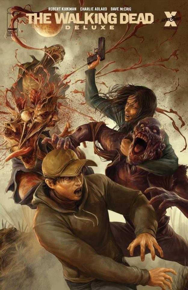 The Walking Dead Deluxe #15 (Rapoza Cover)