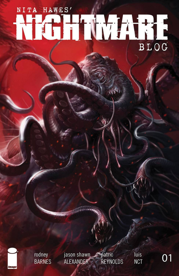 Nita Hawes' Nightmare Blog #1 (Mattina Cover)