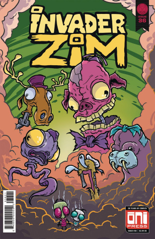 Invader Zim #36 (Sornig Cover)