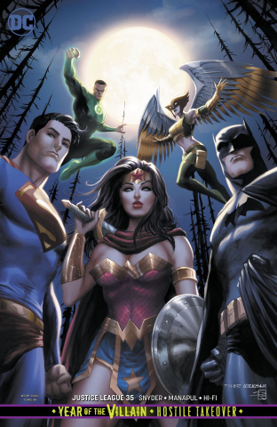 Justice League #35 (Year of the Villain)