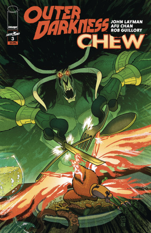 Outer Darkness / Chew #3 (Chan Cover)