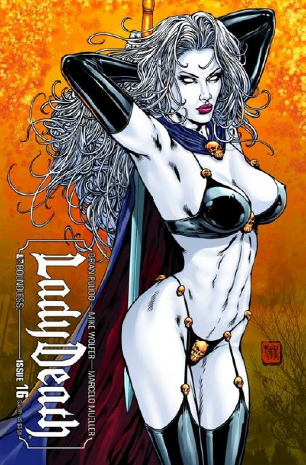Lady Death #16 (Sultry Cover)