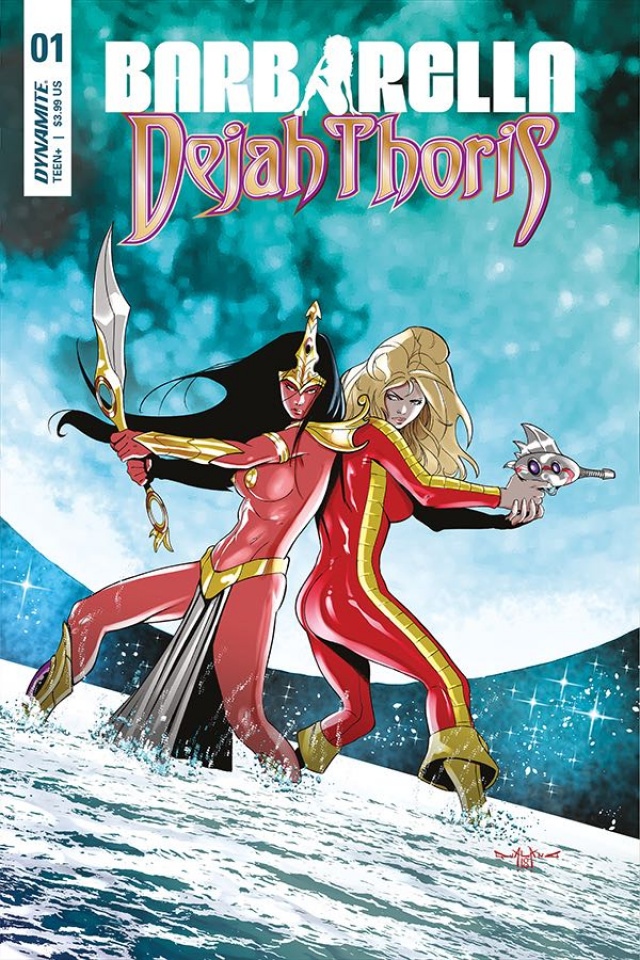 Barbarella / Dejah Thoris #1 (Qualano Cover)