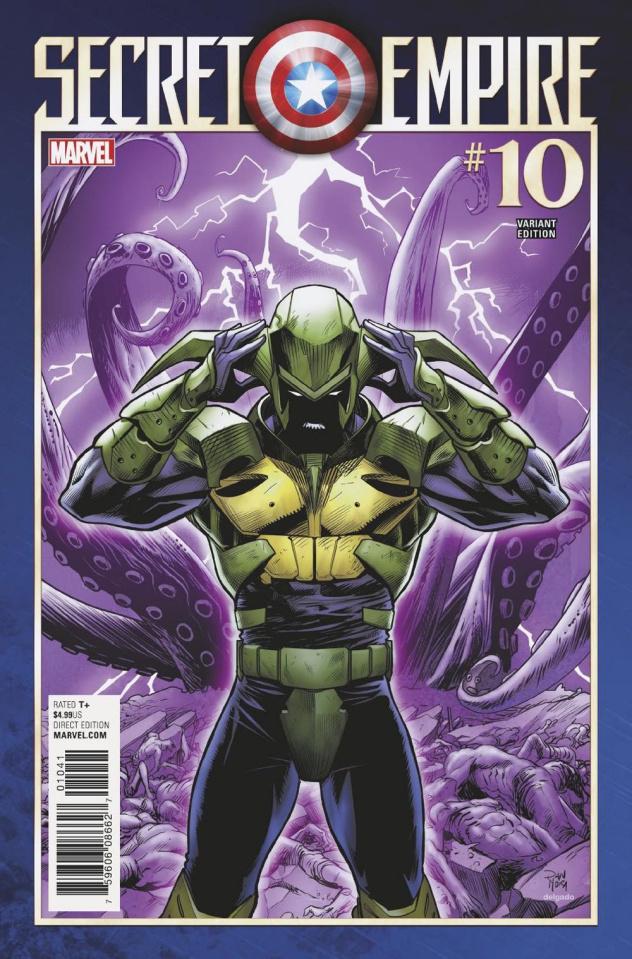 Secret Empire #10 (Mora Villain Cover)