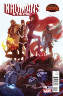 Inhumans: Attilan Rising #1 (Forbes Promo Cover)
