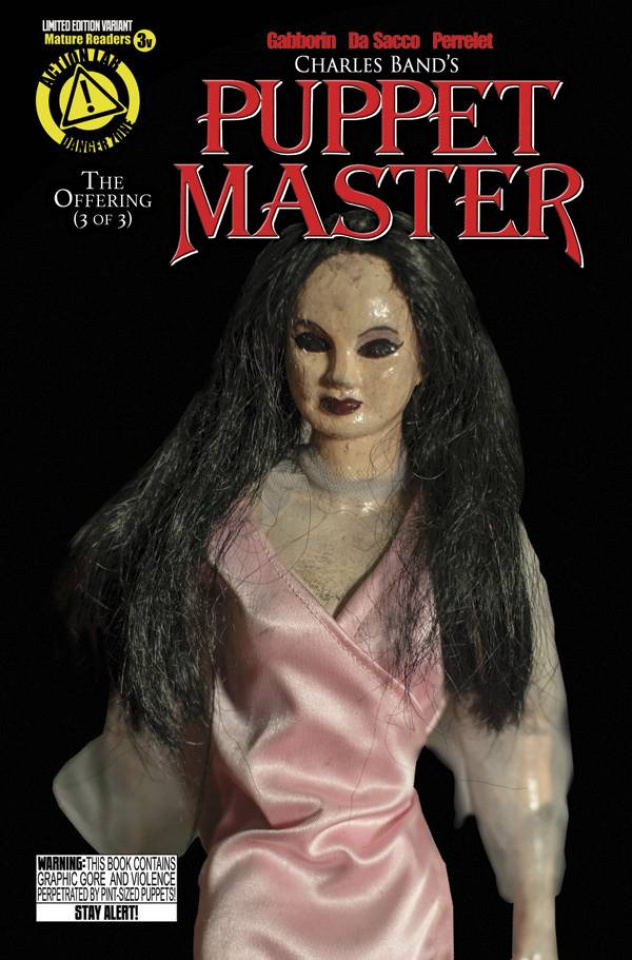 Puppet Master #3 (Leech Woman Photo Cover)