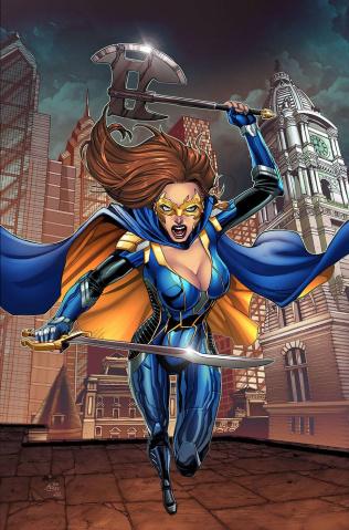 Belle: Thunder of the Gods #1 (Spay Cover)